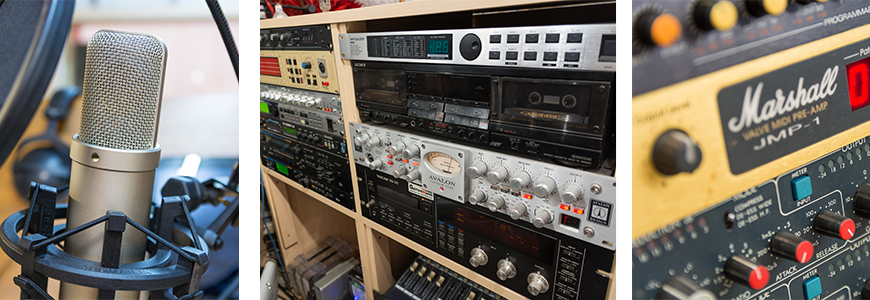 Ritt Sound Studio Impressionen